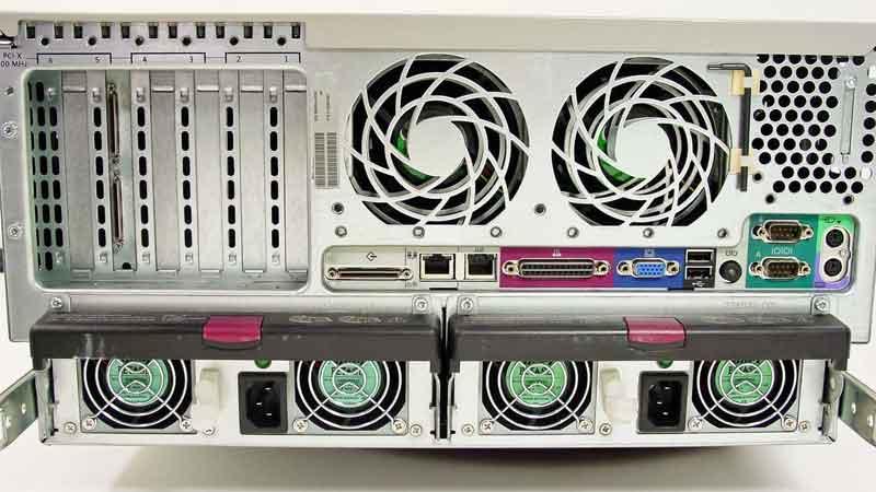 معرفی سرور ام ال 370 شرکت اچپی HP ProLiant ML370 Generation 4
