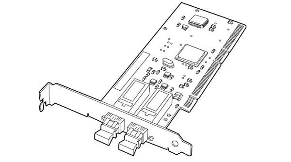کارت شبکه استوک سرور اچ پی HP NC6170 PCI-X با پارت نامبر 313879-B21