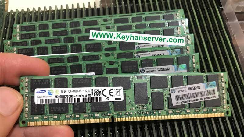 رم سرور 8 گیگابایتی اچ پی HP RAM 8GB 10600R