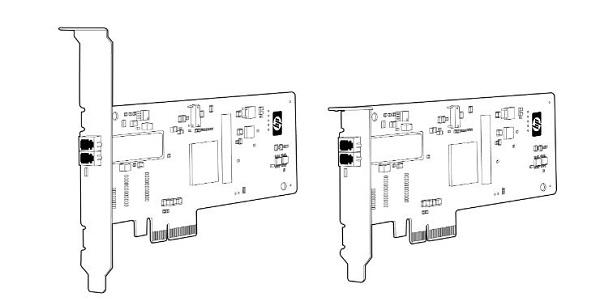 کارت شبکه استوک سرور اچ پی HP NC373F
