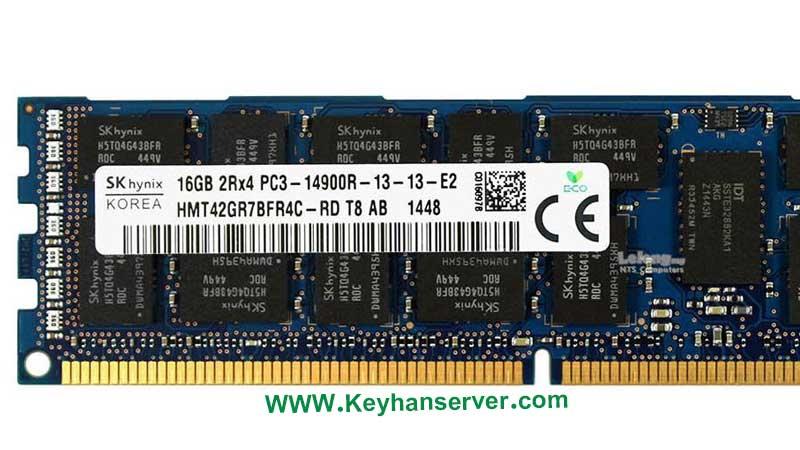 رم سرور 16 گیگابایتی اچ پی HP RAM 16GB 14900 با پارت نامبر 647883-B21