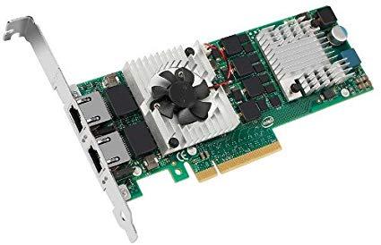 کارت شبکه استوک سرور دل Dell Intel X520-T2 با پارت نامبر JM42W