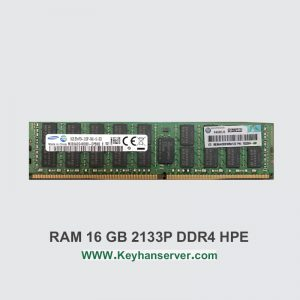 رم سرور 16 گیگابایتی اچ پی HP RAM 16GB 2133P با پارت نامبر 726719-B21