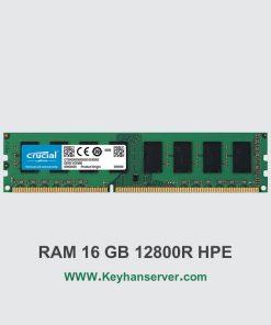 رم سرور 16 گیگابایتی اچ پی HP RAM 16GB 12800R با پارت نامبر 713985-B21