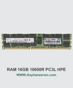 رم سرور 16 گیگابایتی اچ پی HP RAM 16GB PC3L 10600 با پارت نامبر 647883-B21