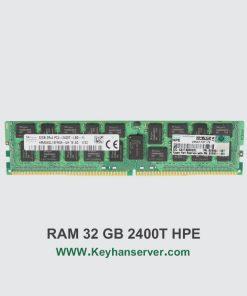 رم سرور 32 گیگابایتی اچ پی HP RAM 32GB PC4 2400T با پارت نامبر 805353-B21