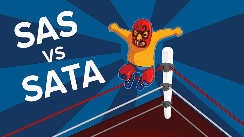 مقایسه هاردهای (SSD) اس اس دی SAS و SATA