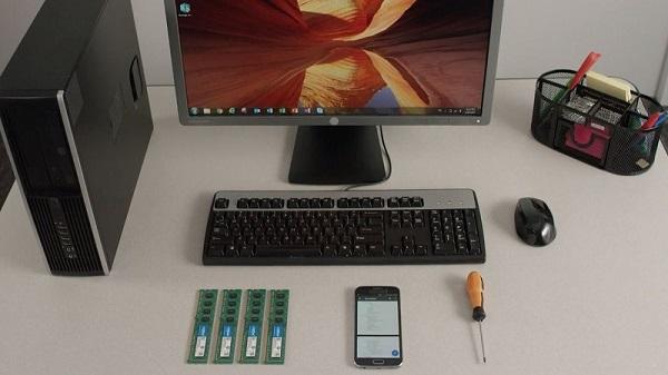 آموزش نحوه نصب و تعویض حافظه رم (RAM) در کامپیوتر دسکتاپ