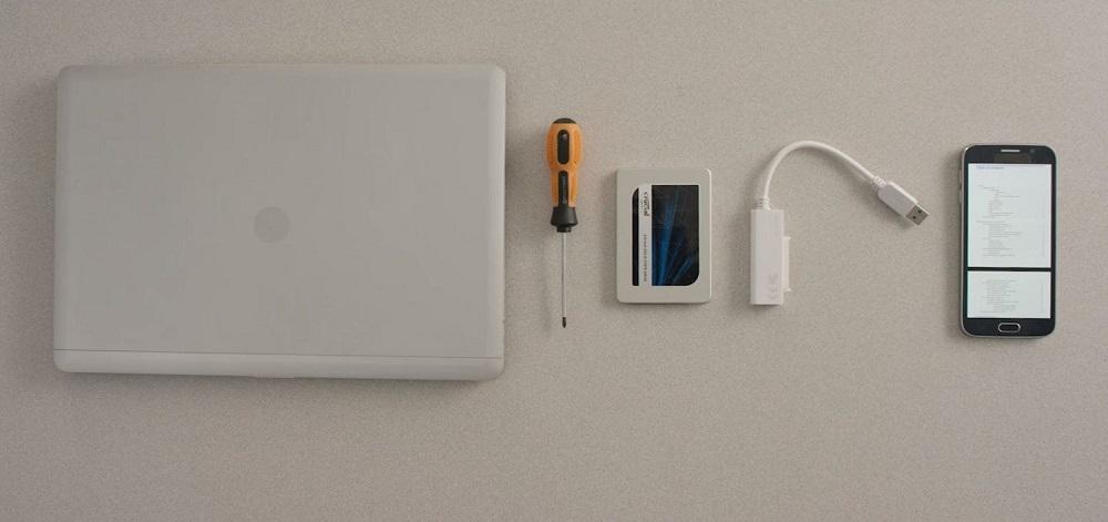 نحوه نصب هارد SSD در لپ تاپ