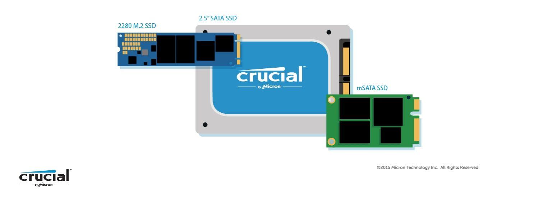 انواع فرم فکتور هاردهای SSD