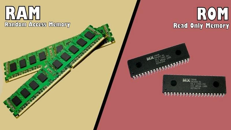 تفاوت بین حافظه رم (RAM) و رام (ROM) چیست؟