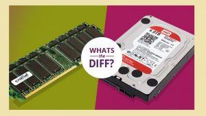 تفاوت حافظه کامپیوتر و هارد چیست؟