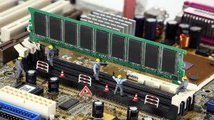 نحوه نصب حافظه سرور