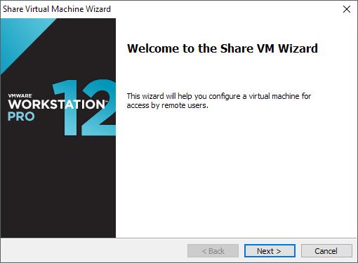 نحوه راه اندازی سرور VMware Workstation و اتصال به VM های اشتراکی