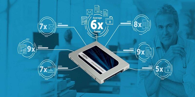 هاردهای SSD برای کسب و کار – 6 برابر کار سریعتر
