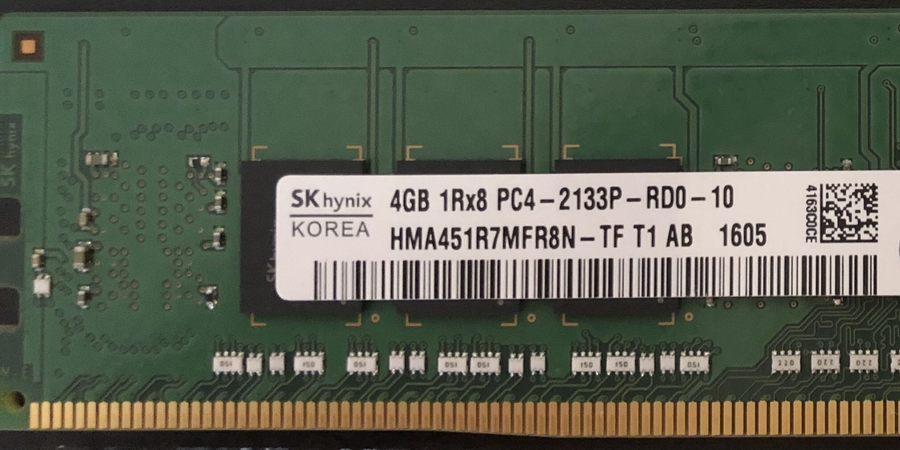 انواع رم DDR4 سرور