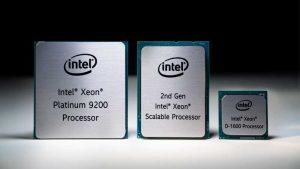 حافظه و پردازنده های اینتل زئون Scalable