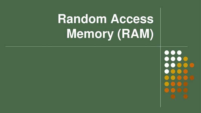حافظه دسترسی تصادفی رم چیست
