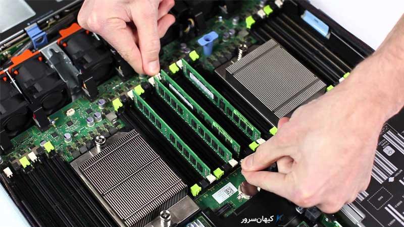 مدیریت سرور با مدیریت حافظه