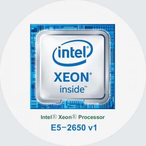 پردازنده سرور اچ پی Intel Xeon E5-2650 v1