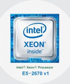پردازنده سرور اچ پی Intel Xeon E5-2670 v1
