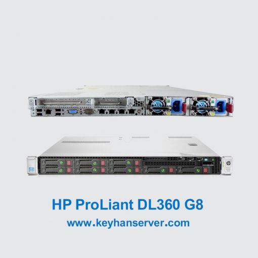 سرور کارکرده HP ProLiant DL360 G8