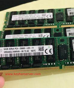 رم سرور 64 گیگابایت اچ پی HP RAM 64GB 2666V
