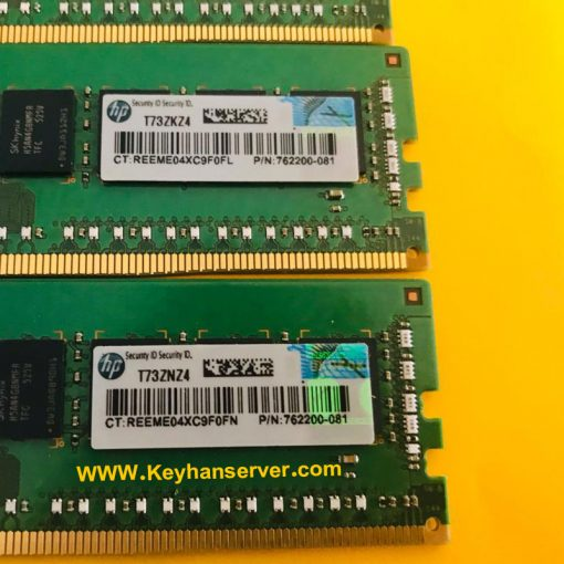 رم سرور 8 گیگابایت اچ پی HP RAM 8GB 2133P