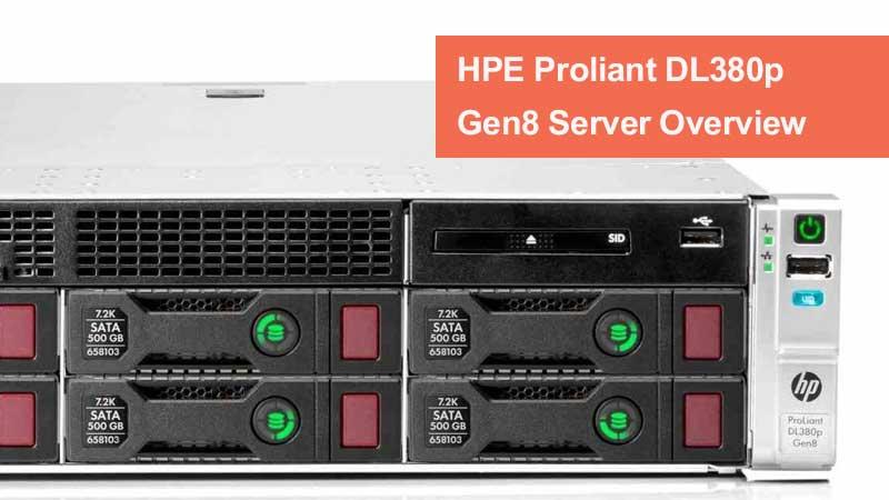 سرور HPE ProLiant DL380p Gen8