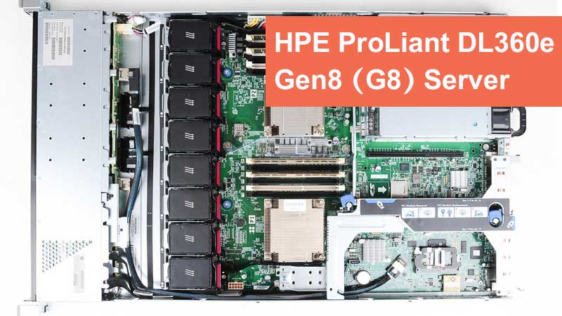 سرور HPE ProLiant DL360e Gen8