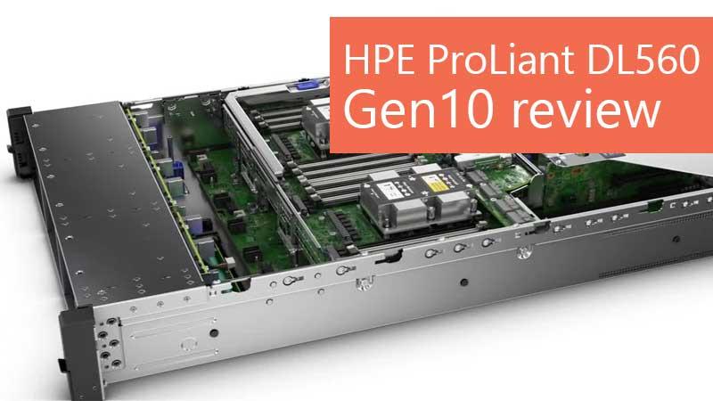 بررسی سرور HPE ProLiant DL560 Gen10