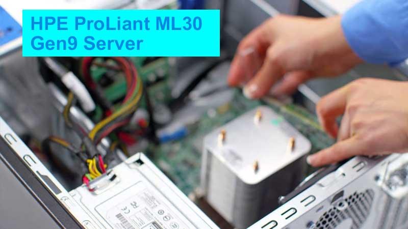 بررسی سرور HPE ProLiant ML30 Gen9