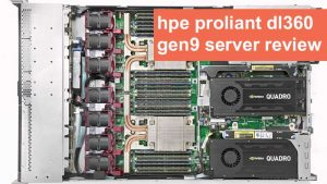 سرور HPE ProLiant DL360 Gen9