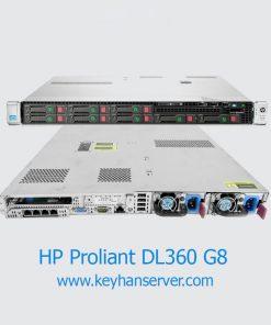 سرور اچ پی HP Proliant DL360p G8 2680v2 8SFF