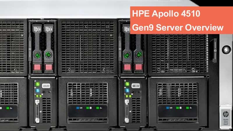 بررسی سرور HPE Apollo 4510