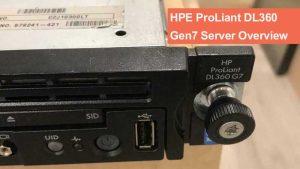 نقد و بررسی سرور HPE ProLiant DL360 Gen7