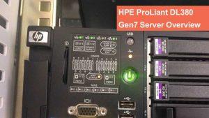 نقد و بررسی سرورHPE ProLiant DL380 Gen7