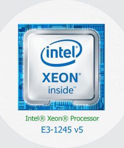 پردازنده سرور اچ پی Intel Xeon E5-1245 v5