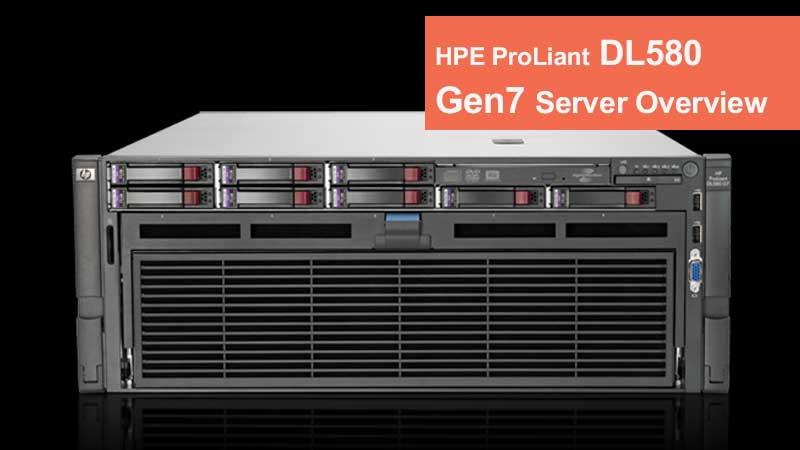 سرور HPE ProLiant DL580 Gen7