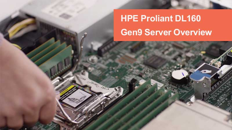 سرور HPE ProLiant DL160 Gen9