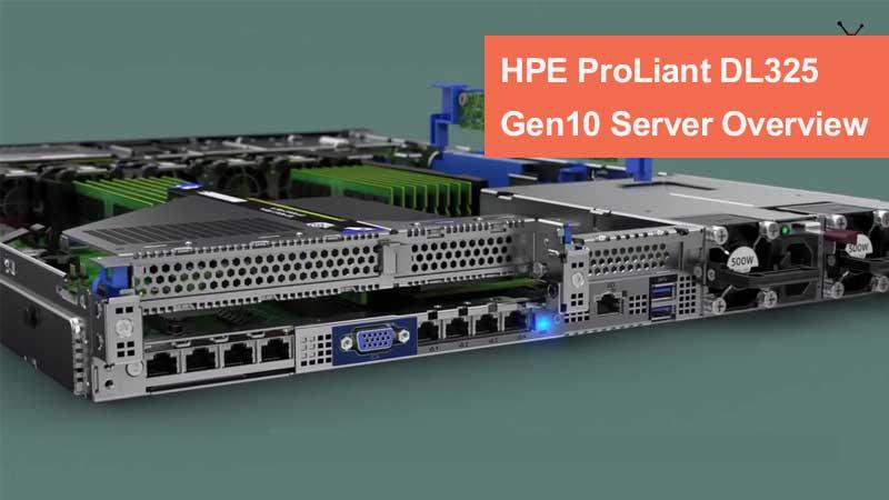 نقد و بررسی HPE ProLiant DL325 Gen 10