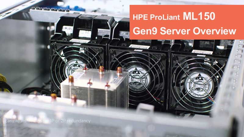 سرور ایستاده HPE ProLiant ML150 Gen9