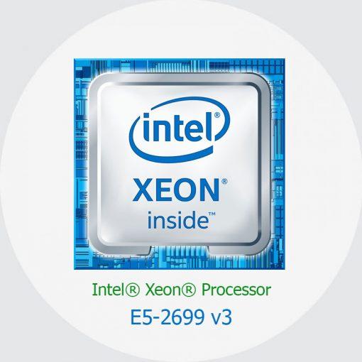 پردازنده سرور اچ پی Intel Xeon E5-2699 v3