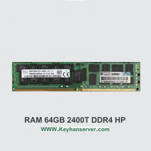 رم سرور 64 گیگابایت اچ پی HP RAM 64GB 2400T