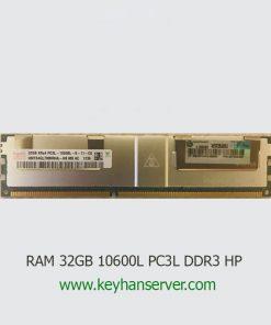 رم سرور 32 گیگابایت اچ پی HP RAM 32GB 10600L