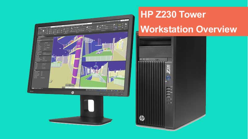 ورک استیشن ایستاده اچ پی مدل HP Z230