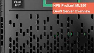 سرور ایستاده HPE ProLiant ML350 Gen9