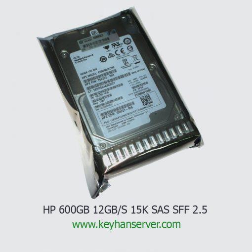 هارد سرور اچ پی HP 600GB 12G 15K SAS