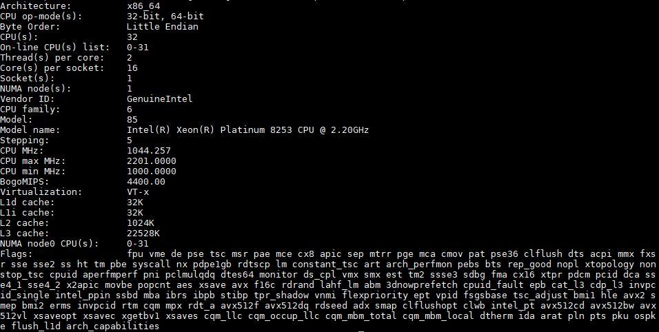 بررسی و بنچمارک پردازنده Xeon Platinum 8253 اینتل