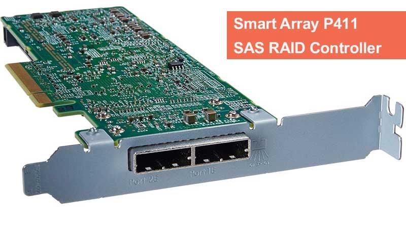 نحوه نصب یا ارتقاء حافظه و BBU در HP Smart Array P411